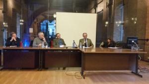 Un momento della Conferenza in Aula Crociera Alta Università degli Studi di Milano